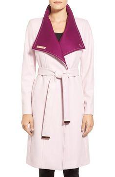 Ted baker pink coat