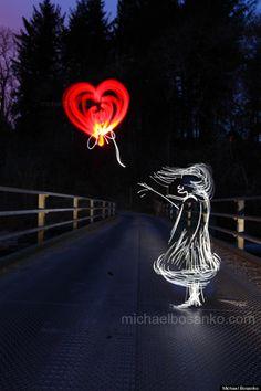 Michael Bosanko recreates Banksy in light sculpture