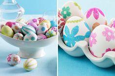 Genius! 40 Creative Ways to Decorate Easter Eggs via Brit + Co.
