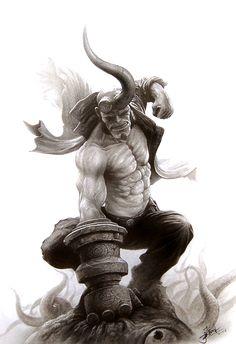 Hellboy by Yin Yuming