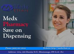 Do It As Quickly As Possible. We Pride Ourselves On Providing Fast, Efficient, Friendly & Easily Accessible Dispensing Services For Our Eligible Patients.  Call us For Appointment, Call: 289-521-8844 Or Call: 289-521-8845 #Health #Wealth #MedX #Clinic #Consultation #Pharmacy #Cause #Health #Sick #Illness #Solution