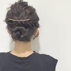 hairarrange💁 model @__mamico #ヘア#ヘアアレンジ#ハーフアップ#お団子ヘア#ヘアカラー #ヘアセット #ヘアアレンジ動画 #二次会アレンジ##dailylook#japan#selfie#f4f#ootd#love#l4l#follow#instagood#hair#model#make#makeup#hair#haircolor#hairset#hairstyle #hairarrange#me#hairandmakeup