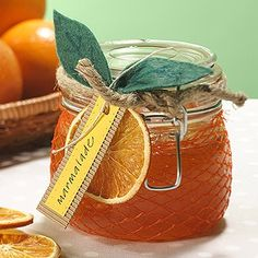 What a cute presentation for marmalade