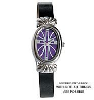 Inspirational Cross Watch $9.99 Purchase at:  www.youravon.com/pamelataylor