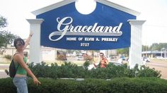 Graceland, Memphis - Home of Elvis Presley #music #historic #USA