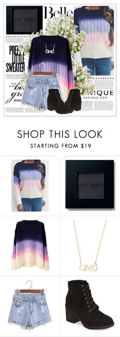 """Sweater (ver. 1)"" by drakona ❤ liked on Polyvore featuring Bobbi Brown Cosmetics, Topshop, New Growth Designs and benique"