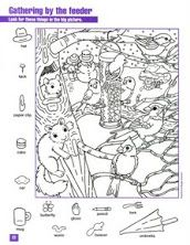 Christmas Hidden Picture PuzzleColoring Page  Joulu  Pinterest