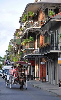 Take a tour of the French Quarter! Click through to read our top 10 things to do in New Orleans!