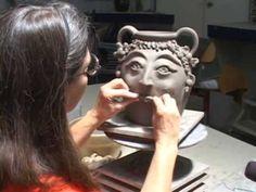 Making a Georgia Face mug