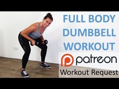 Full Body Dumbbell Workout – 10 Minute Weight Training with Dumbbells for Beginners - YouTube