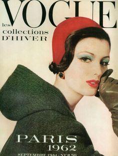Vogue Paris cover, September 1961. Photo by Irving Penn.