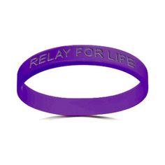 """""""Relay For Life"""" bracelet"""