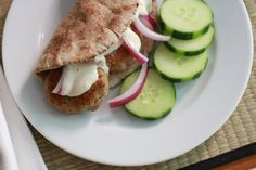Turkey Sliders with Tahini Sauce Adapted from Power Foods These cute little patties were a … Turkey Sliders, Tahini Sauce, Kid Friendly Dinner, Yummy Food, Yummy Recipes, Turkey Recipes, Poultry, Treats, Dishes