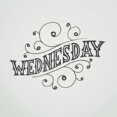 Wednesday __ Hand Lettering by [ts]Christer