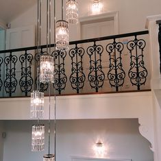A staircase is not only the center of a house or villa, but also the possible most frequented room. Therefore perfect illumination is essential and very important. Villa, Designer, Beautiful Places, Stairs, Chandelier, Ceiling Lights, Lighting, Room, House