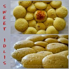 Flavors And Colors: Sweet Fruit Idlis