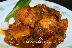 My World of Food and Travel: Sri Lankan Devilled Chicken