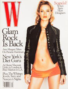 W Magazine's Supermodel Cover Girls - W Magazine October 1998