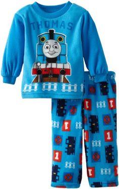 Thomas the Train Baby-Boys Infant Thomas Fleece Pajama Set, Blue, 24 Months Thomas & Friends http://www.amazon.com/dp/B00CRWA80G/ref=cm_sw_r_pi_dp_rGj.tb02N4P6Z