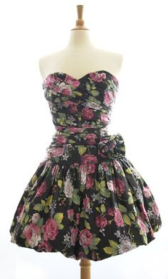 I'm going on an 80s rampage pin right now...I want a bubble dress.