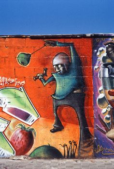 Graffiti in Sevilla, España