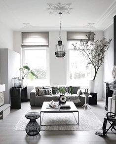 Likes, 35 Comments - Interieur stylist Interior Design Living Room Warm, Living Room Designs, Living Spaces, Living Area, Living Room Grey, Home And Living, Living Room Decor, Small Living, Modern Living