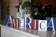 Dejavu*Crafts: Decorating for the 4th!!!