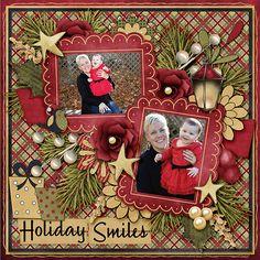 Holiday Smiles - Scrapbook.com