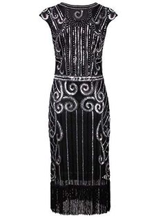 The latest Dresses for a Great Gatsby Party for Gatsby Dresses & Plus Size Gatsby Dresses Great Gatsby Outfits, Great Gatsby Party, Flapper Party, Flapper Girls, 1920s Party, Gatsby Dress Plus Size, Vintage Prom, 1920s Dress, Chic Outfits