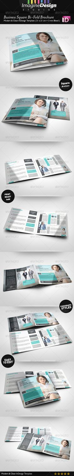 Social Media Half-fold and Tri-fold Brochures Tri fold brochure - half fold brochure template
