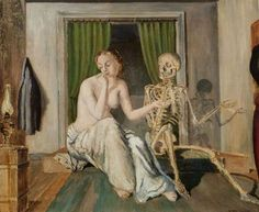 Paul Delvaux - Conversation - 1944