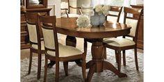 Treviso ovális étkezőasztal (hosszabbítható) (cseresznye) - Rusztikus étkező bútorok - Italia Bútor Webshop