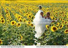 ITALY - Real destination wedding abroad Tuscany Italy. Ambri & Giuliano had a stunning Tuscan Villa Wedding with week long celebrations | http://www.weddingsabroadguide.com/tuscan-villa-wedding.html