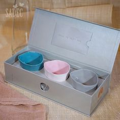 Packaging and gift boxes for amaï saigon ceramic collection www.amaisaigon.com