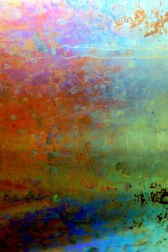 LuAnn Ostergaard. The artistic process used to create my abstract art pieces begins with a digital image captured from entropic, scarred and weathered surfaces, usually in man-made environments. The pieces are printed with pigment inks on archival fine art paper. They may be box mounted and textured with extra heavy acrylic gel medium with a brushstroke finish, giving the impression of a painting.""