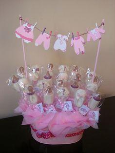 Centro de mesa para baby shower - Imagui