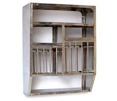 o.k.versand. small wall shelf and plate holder made in india