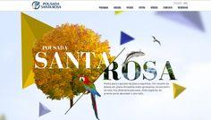Pousada Santa Rosa Fun Website Design Web Design Web Design Inspiration