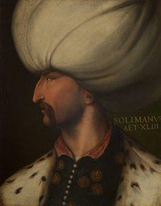 Kanuni Sultan Süleyman'ın Portresi