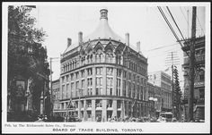 Board of Trade Building, Financial District, 1910...
