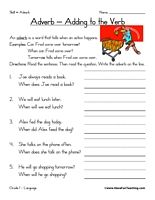 adverb worksheet read the paragraph circle all of the adverbs write the adverbs on the lines. Black Bedroom Furniture Sets. Home Design Ideas