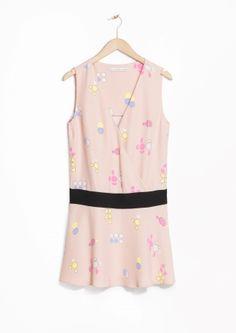 & Other Stories   Pastel Paradise Wrap Dress