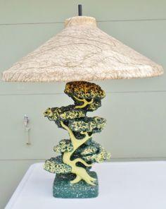 Rare Vintage Reglor Of Calif Chalkware Lamp by DebscountryVintage, $498.00