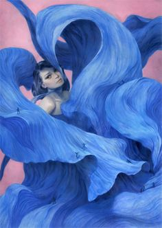 Surreal Illustrations of Young Women-3