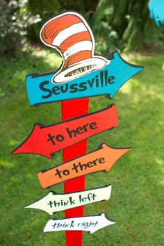 dr. seuss birthday party Kara's Party Ideas