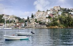 Places Ive Been, Greece, Mansions, House Styles, Image, Corfu, Albania, Greece Country, Luxury Houses