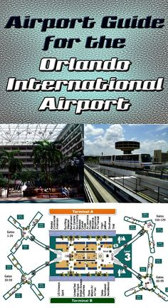 Orlando International Airport - Maps, directions, gate information & more