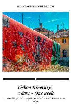 Lisbon Itinerary: 3 days - One week