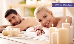 Up to 40% Off Romantic Couple's Massage