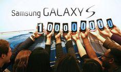 Samsung Galaxy S series: over 100 million served